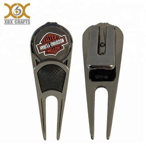 Promotional Metal Golf Divot Tool With Money Clip