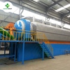 PLC Controller Continuous Waste Tyre Recycling Plant With 30T/D