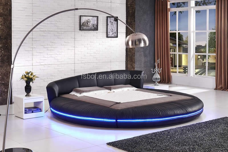 Cheap Used Bedroom Furniture Modern Round Bed Designs Rotating - Rotating bed
