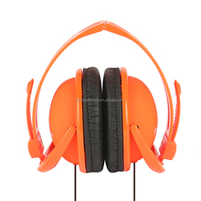 High quality alibaba wholesale computer promotional OEM CE mp3 music mobile phones ear warmer headphone