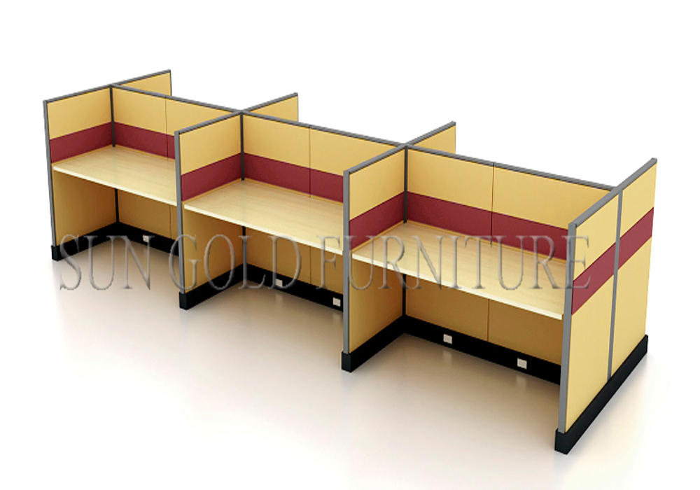 Office Furniture Modular Workstation Fabric Panel Structure Office Partition  System( SZ WS160)