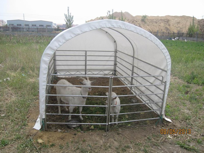 Mobile Cattle Shelter : Metal structure portable animal shelter buy