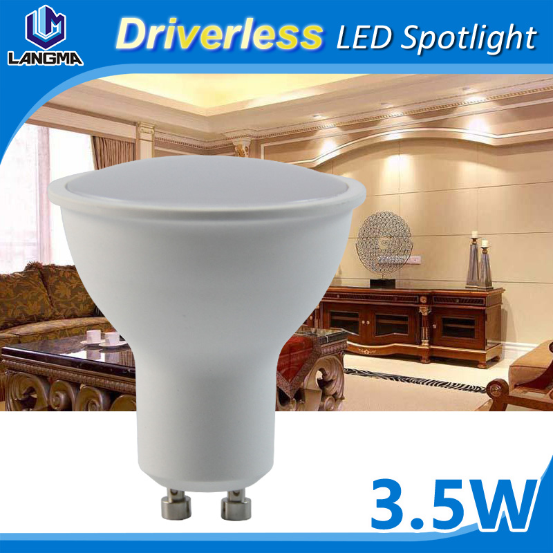 Best Price Super brightness Dimmable 24 SMD 2835 5050 GU10 LED Spotlight
