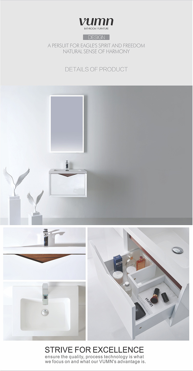 New Design Modern Home Goods Bath Vanity Hanging Wall
