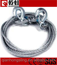 5t steel towing cable for car emergency
