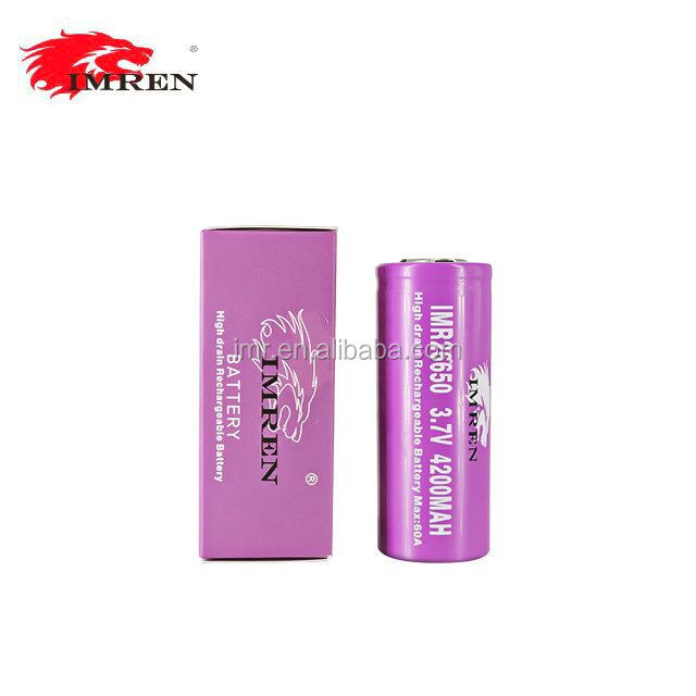 IMR 26650 4200 mAh 60A Battery is the newest 26650 battery