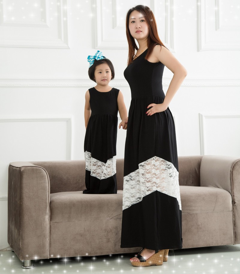 Vestidos madre e hija casual