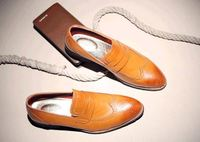 New Mens Formal Office Working Shoes Italian genuine leather Dress shoes