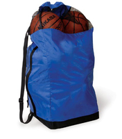 12 pcs Basketball Sports Mesh Duffel Bag with drawstring closure