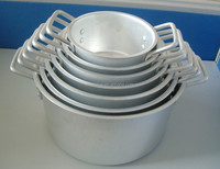 7PCS Set Good Quality Competitive Price Aluminium Cooking Pot in Kitchen for wal-mart