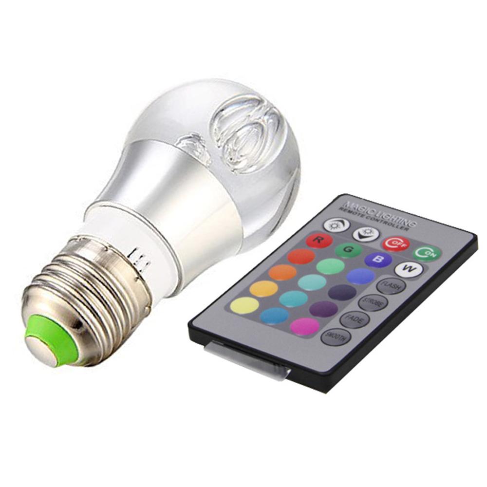 rgb spot led ball bulb 3w e27 crystal led bulb light ac85. Black Bedroom Furniture Sets. Home Design Ideas