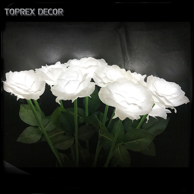 TOPREX DECOR Event &amp; Party Supplies Led rose artificial flower decoration light for decorations <strong>wedding</strong> <strong>wedding</strong>