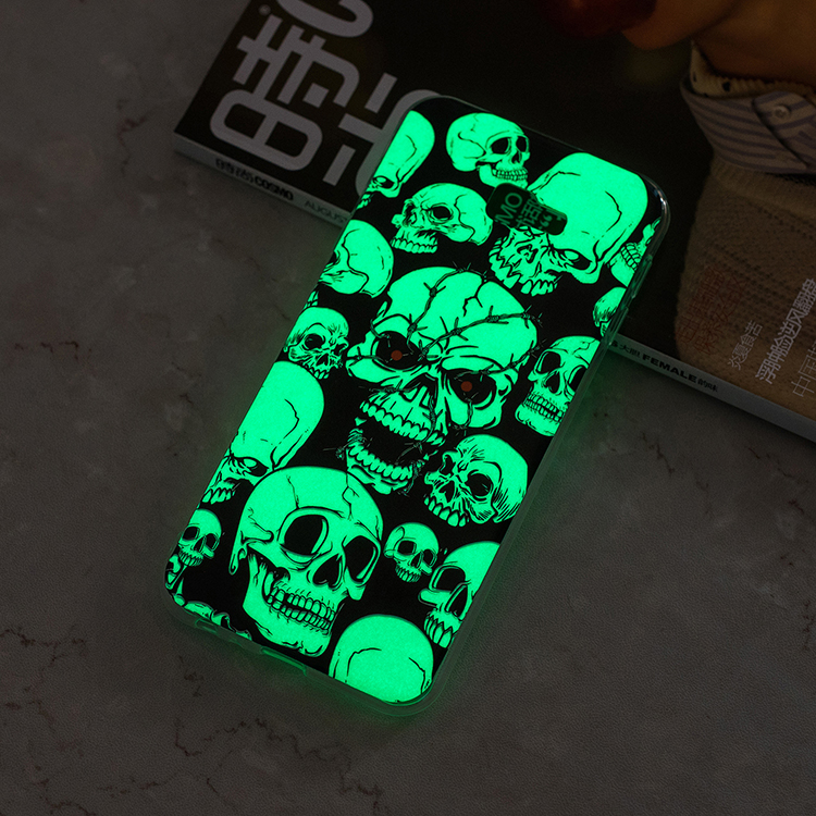 Unique Fitness Night Glow luminous Cell phone Case <strong>Cover</strong> for Samsung J4 Plus 2018