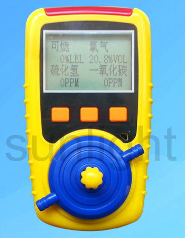 Handheld Multi Gas Meter GD-40(H2S, CO, NO2, CO2)