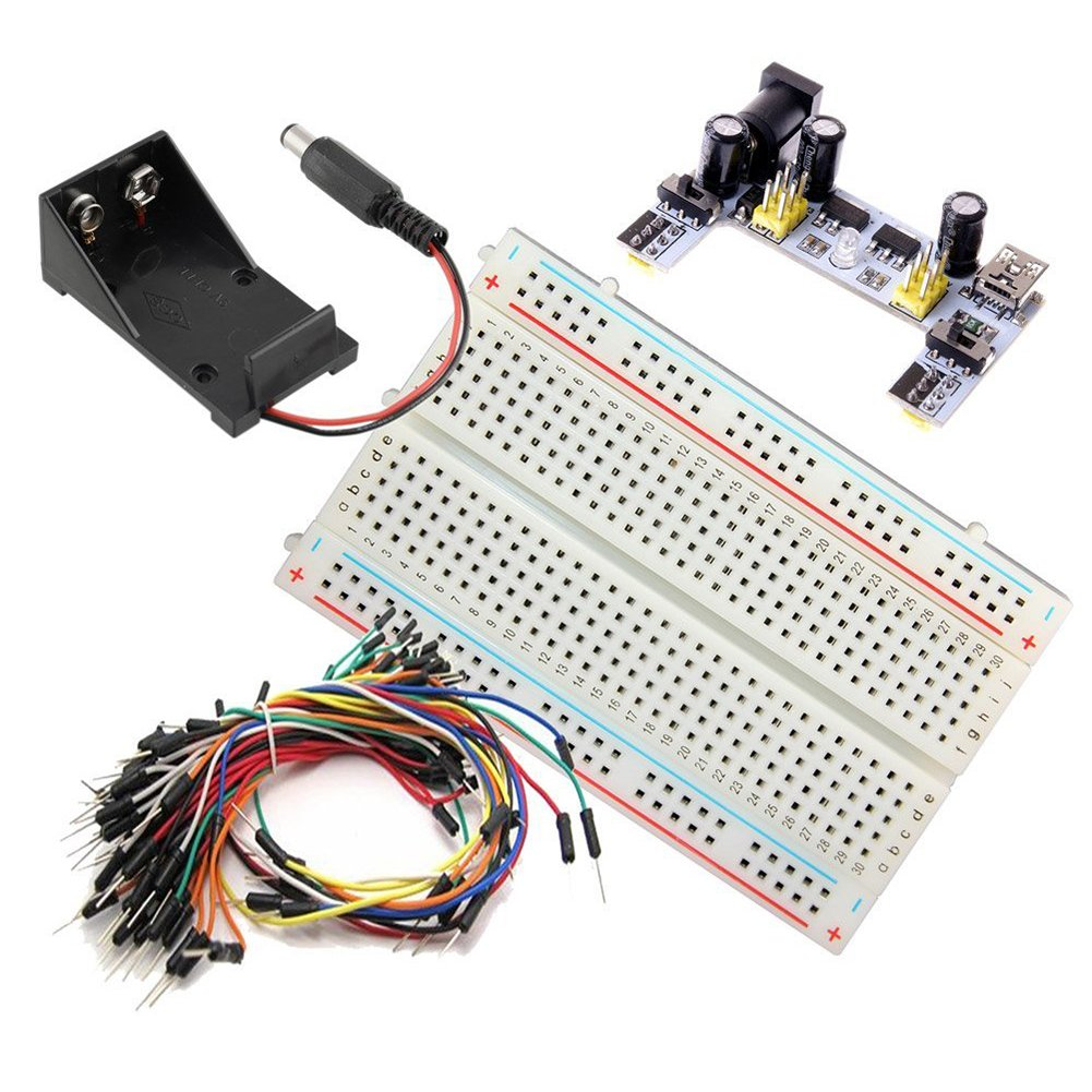 Cheap Power Supply Battery Find Deals On Line Wiring 9 Volt Batteries In Series Get Quotations Toogoor Small 400 Tie Point Prototype Pcb Breadboard K2