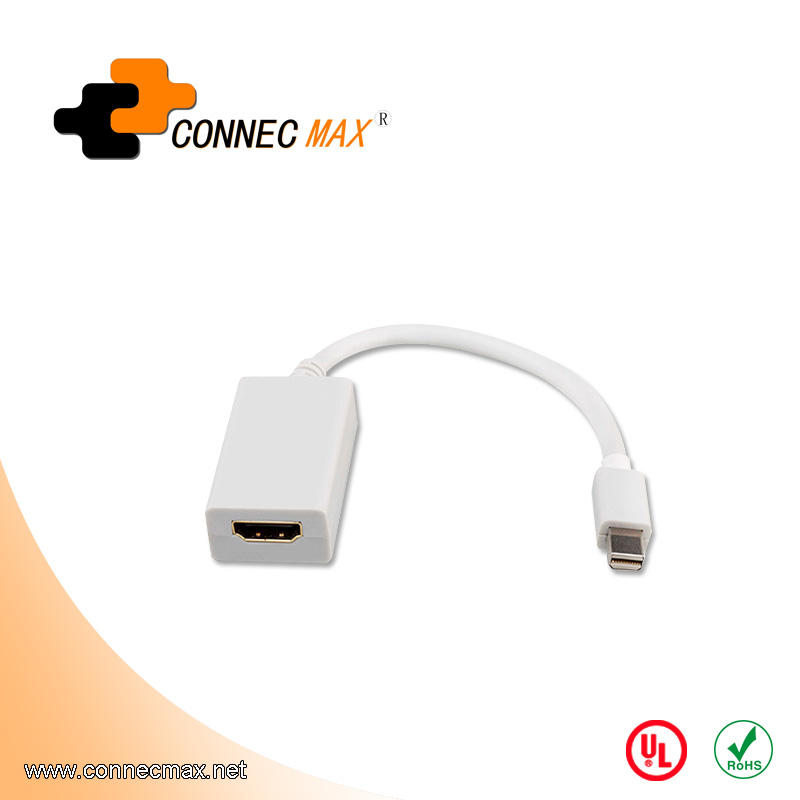 Mini DisplayPort DP to HDMI Male to Male Thunderbolt 1.8m/6 Ft HDMI Cable Converter