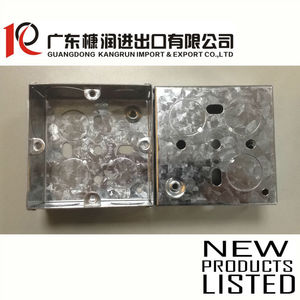 3x3 GI iron electrical waterproof junction box