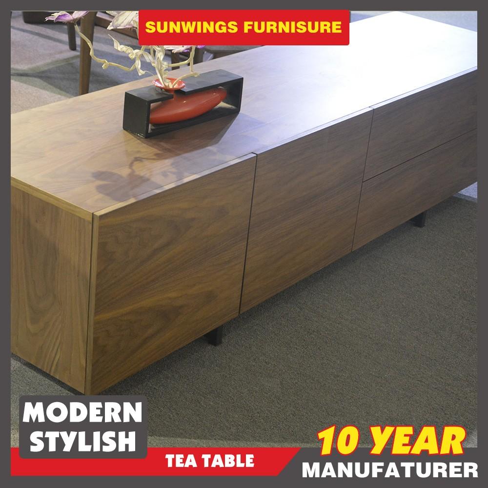 Nieuwste ontwerp moderne woonkamer tv staat houten kast ontwerpen ...