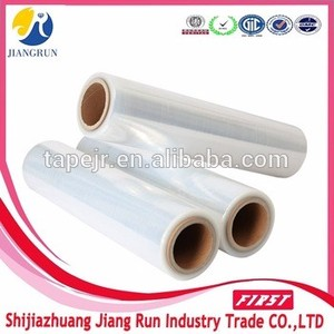4 rolls Packaging Film Usage and pallet Stretch Film Type plastic film 70gague x 300m