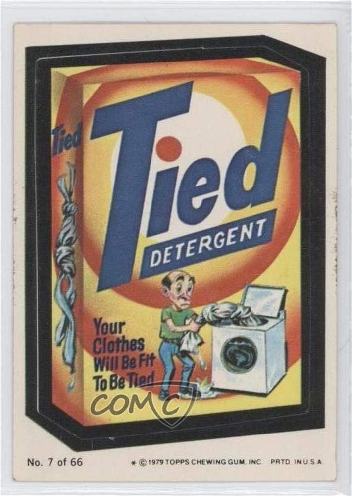 Tied (One Star) COMC REVIEWED Good to VG-EX (Trading Card) 1979 Topps Wacky Packages Rerun Series 1 - [Base] #7.1