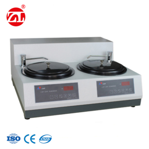 Double Discs Metallographic Sample Grinding and Polishing Equipment