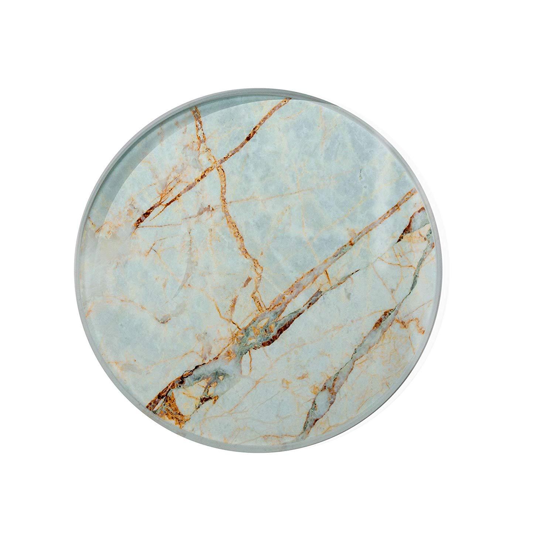 Gold Marble Glass Coaster For Drinks Housewarming Gift Coaster Drink Mat Tea Rug Coaster Tempered Glass Wine Mat Hardboard Coaster ZZ8168