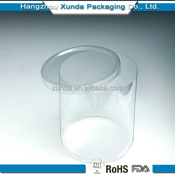 Cheap Wholesale clear plastic hat box
