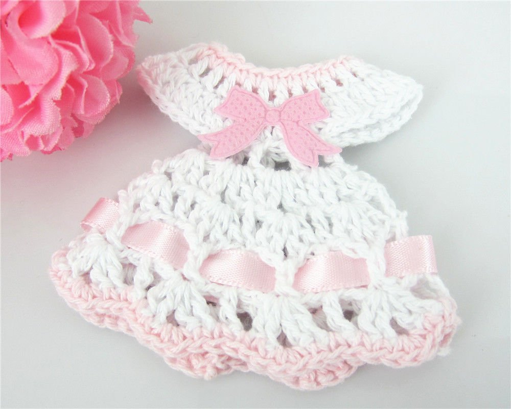 Buy 12 Miniature Crochet Sweater Dress Baby Shower Favors Baptism