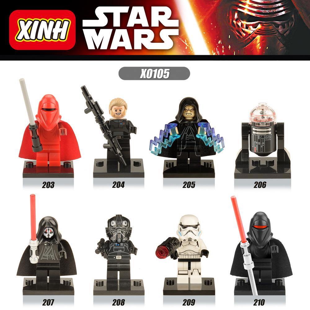 800 ชิ้น LELE C032 C039 ทั่วไป grievous Stormtrooper Legion Clone Trooper First ORDER Snow Trooper จีน legoing