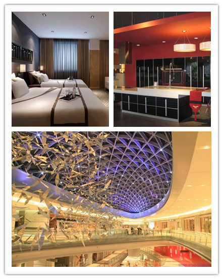 Insulation Compatible Dimmable Cob Ip65 Led Ceiling Light