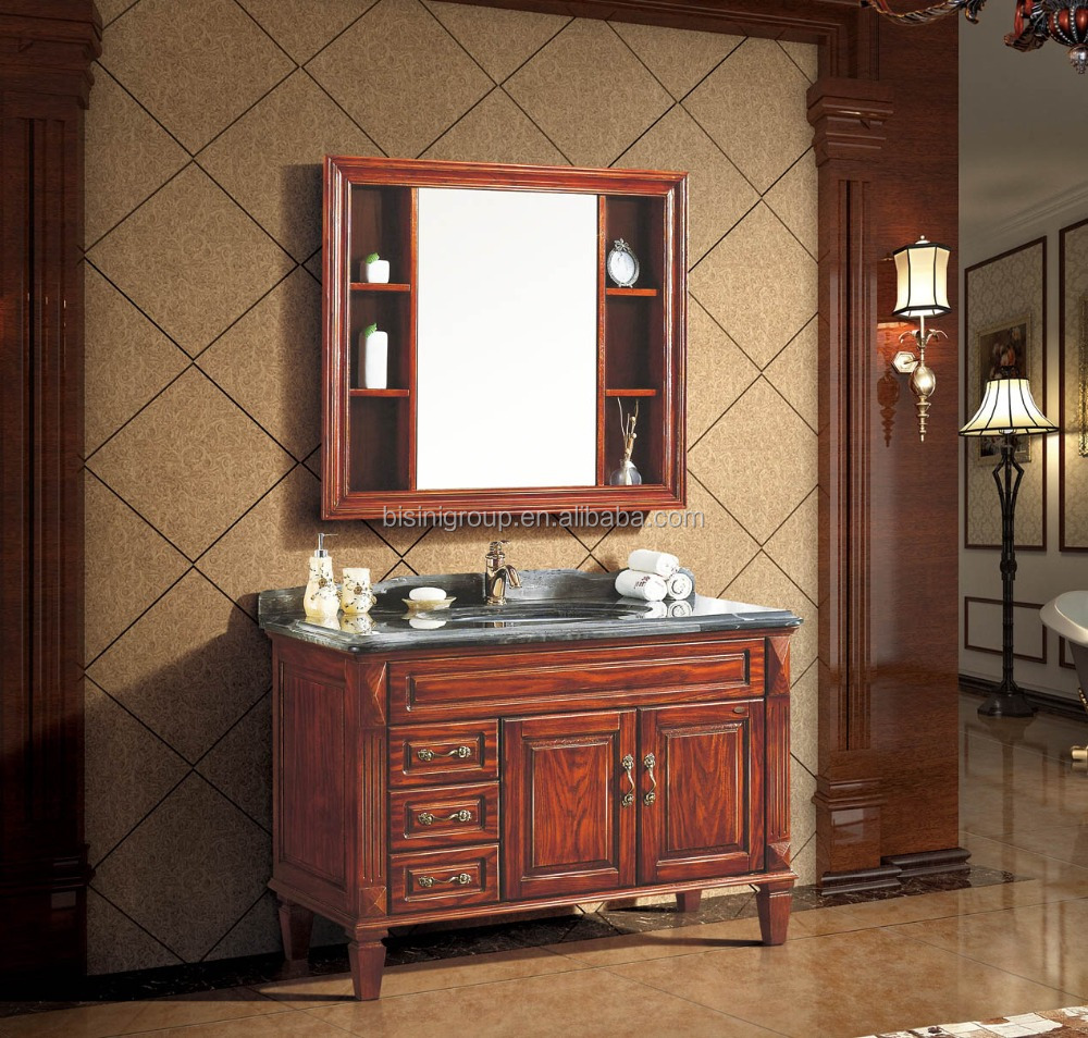 Classic Elegant Bathroom Flowers Roses Pearls: Classic Carved Wood Bathroom Furniture,Elegant American