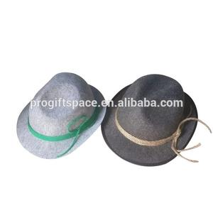 0e3f95572bddc 2018 new charm products custom female male fitted custom wool felt material  top hat body wholesale