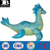inflatable sea dragon giant inflatable blue dragon toys customized sea animals