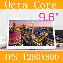 9.6″ Tablet PC 3g 4g tablet Octa Core 1280 * 800 ips 5.0mp 4g/128gb keyboard android 5.1 gps bluetooth Dual sim card Phone Call