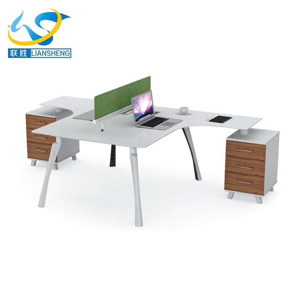 t shaped office desk. Open T Shaped 2 Person Office Desk Linear Modular Workstation Wooden Opening Cubicles - Buy Cubicles,Modular Workstation,T