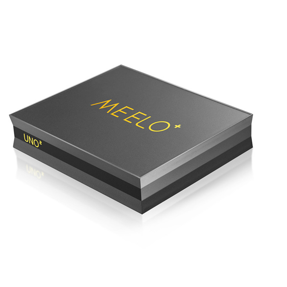 MEELO UNO2 Android TV box with twin tuners 1GB Ram 8GB Rom Kodi 16.1 Smart android satellite Receiver
