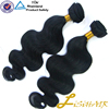 Virgin brazilian body wave curly hair human extension weave in stock