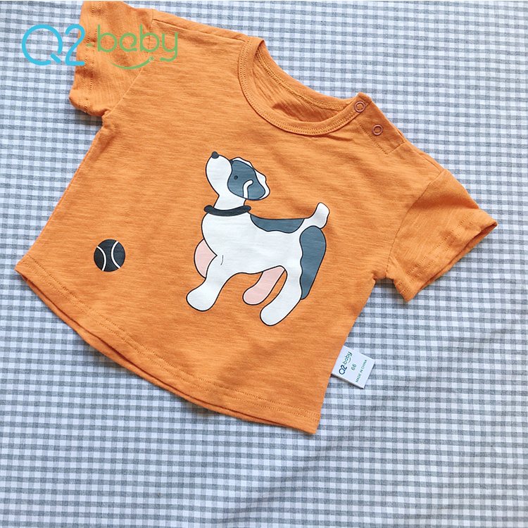 Q2-baby Custom Printing Latest Cheap Baby T Shirts For Boys