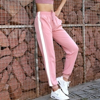 Comfortable Training Pants Women Ankle-tied Tracksuit Bottoms