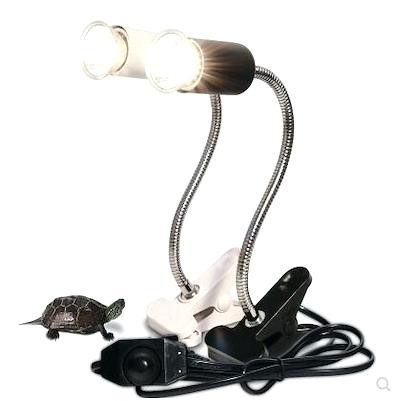 Heat Lamps Holder Stand Adjustable Habitat Heating Lighting