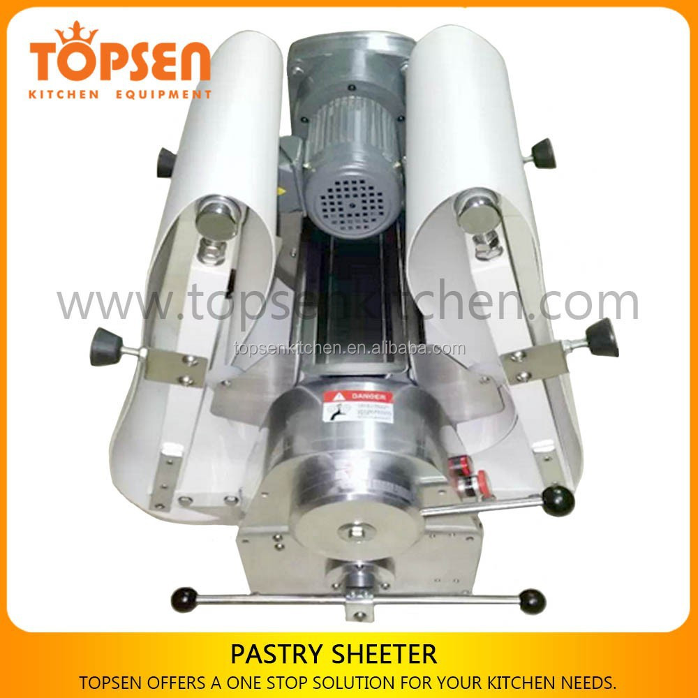 Semi-auto reversible dough sheeter for pastry used/pizza dough sheeter used