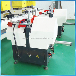 V Cutting Saw / PVC Window Frame Saw Machine