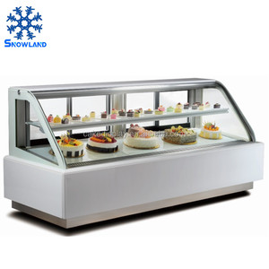 Refrigerated Cake Display Cases Commercial Showcase for Cake