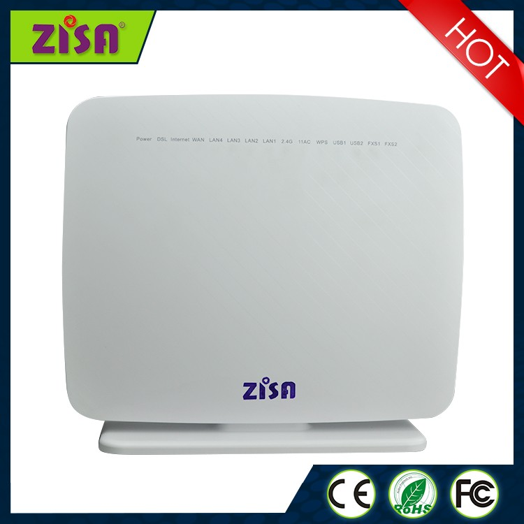 900Mbps 11ac wifi adsl/vdsl bonding 2*2 adsl ethernet modem