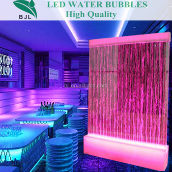 Waterproof Water Bubble Acrylic Led Glowing Living Room Partition ...