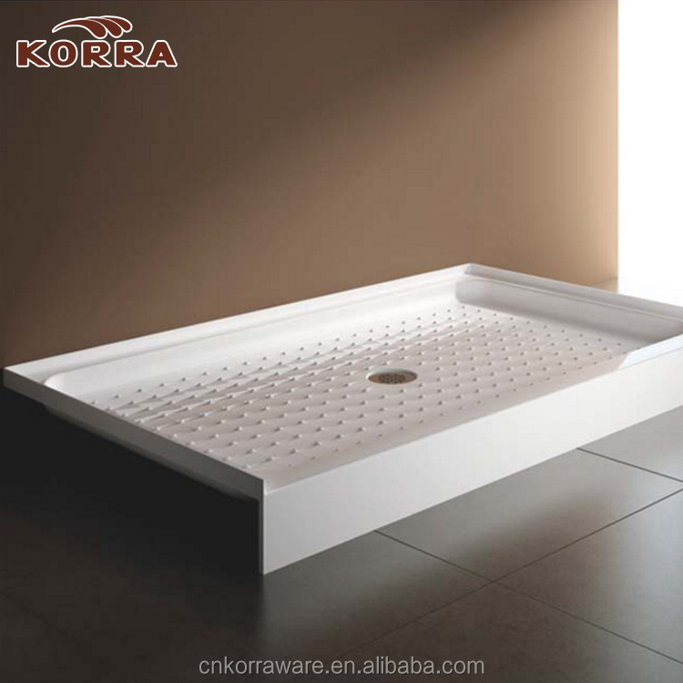 North America standard Acrylic Shower Tray Shower Base anti slip shower tray