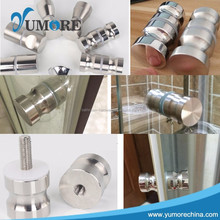 Factory Sale excellent quality magnetic nautical glass shower door knobs