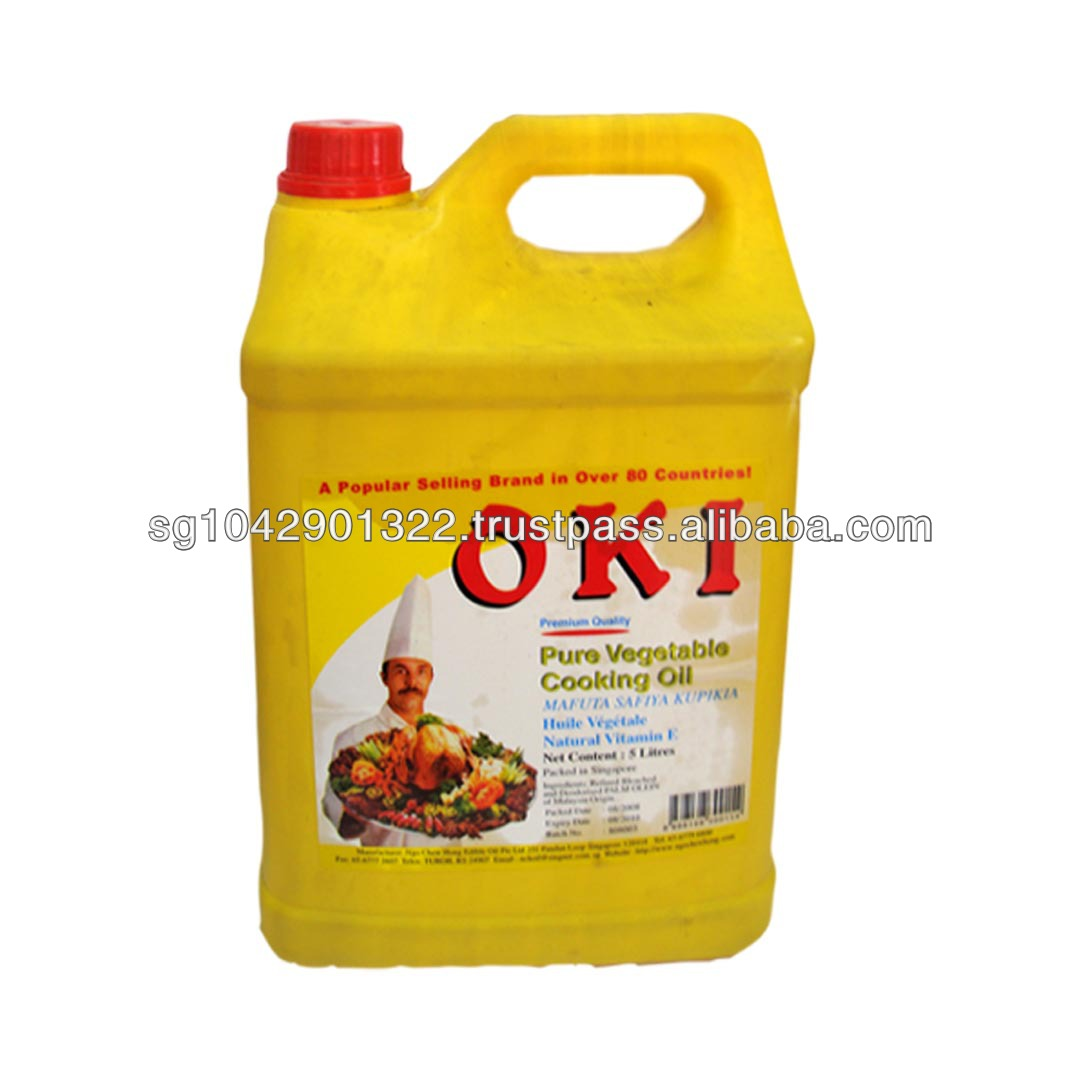 Rbd Palm Olein Cooking Oil (5l)