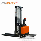 Lowprofile full electric stacker with stand-on platform