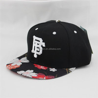 flat bill snapback Basketball cap hat custom manufacturing